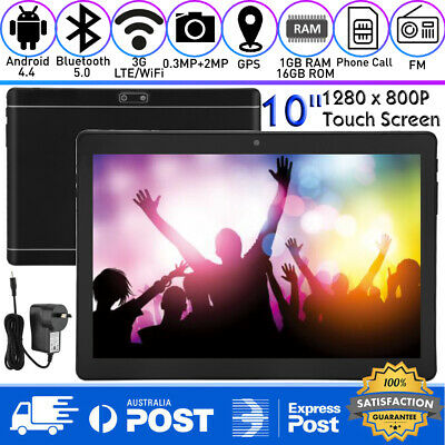 AU65.99 • Buy 10  Android 4.4 Tablet PC 1+16GB 3G Dual SIM Camera WIFI Bluetooth Touch Screen