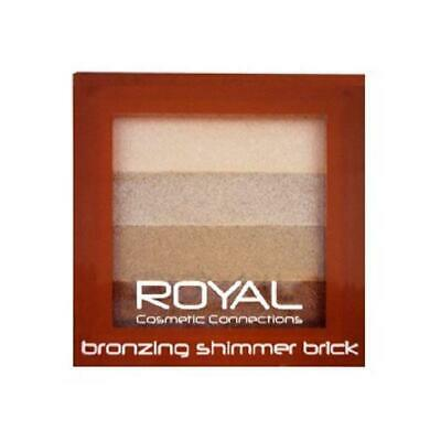 Royal Bronzing Powder Shimmer Brick Contouring Highlighter Powder Compact • 2.39£