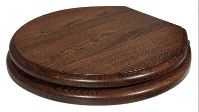 Traditional Solid Wood Baldwin Toilet Seat Various Finishes • 269£