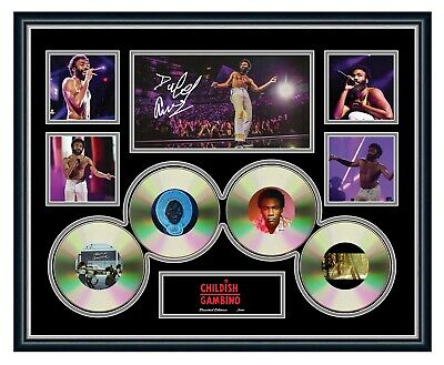 AU99.99 • Buy Childish Gambino 2019 Australia Tour Signed Limited Edition Framed Memorabilia
