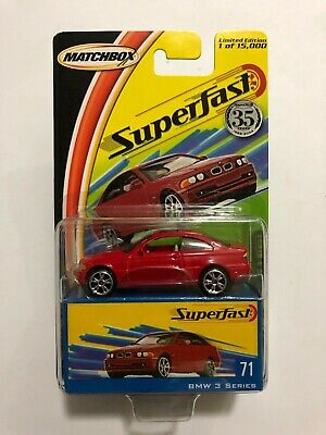 2004 Matchbox Superfast #71- BMW 3 Series - Red - $14.99 SHIPPED! • 14.99$
