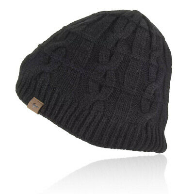 £27.49 • Buy SealSkinz Unisex Sealskinz Waterproof Cold Weather Cable Knit Beanie - Black