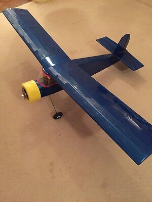 RC Radio Controlled 48  Span Quo Vadis Aircraft Aeroplane 3 Channel ElectricUsed • 42£