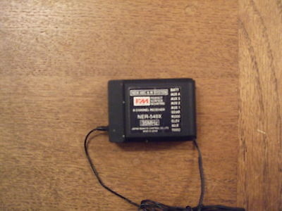 RC Radio Controlled Aircraft Aeroplane JR NER-549X 9 Channel Receiver Used • 9£