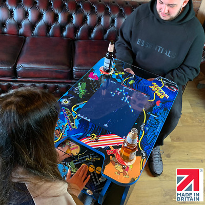 Retro Arcade Cocktail Table Machine With 60 Retro Games - Handmade In The UK • 699£