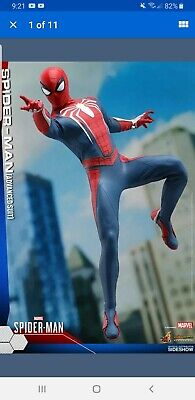 $250 • Buy Hot Toys VGM31 Marvel PS4 Spider-Man Advanced Suit 1/6 Scale Figure NEW