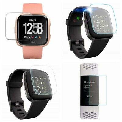 AU3.87 • Buy For Fitbit Versa Lite Versa 2 Charge 2 3 TPU/Tempered Glass Screen Protector Aa
