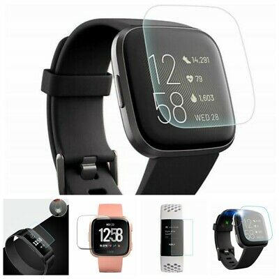 AU4.80 • Buy For Fitbit Versa Lite Versa 2 Charge 2 3 Tempered/TPU Glass Screen Protector Aa
