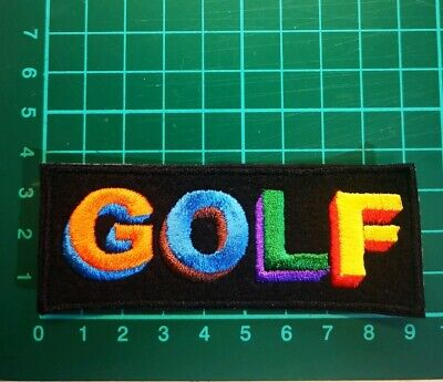 Tyler The Creator Golf Iron On Embroidered Patch Uk Seller Hip Hop • 4.99£