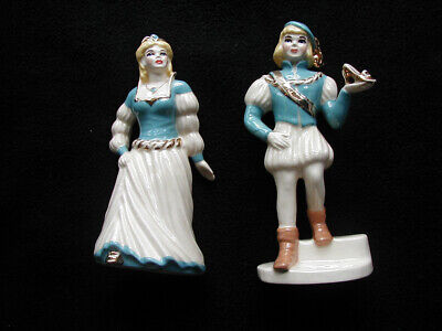 $18.05 • Buy Vintage Ceramic Arts Studio Cinderella, Prince Charming Figurines.