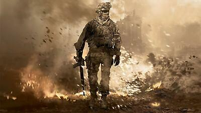 £13 • Buy Call Of Duty Movie Poster Canvas Picture Art Print Premium Quality