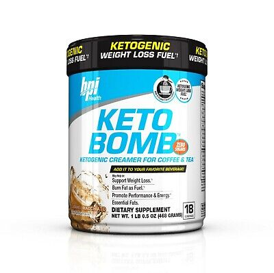 $19.99 • Buy Bpi Sports Keto Bomb 18servings Ketogenic Creamer For Coffee & Tea I Zero Sugars