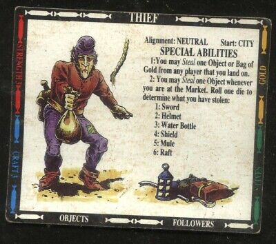 £2 • Buy Thief Character Card Talisman 2nd Edition Games Workshop