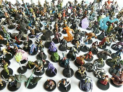 AU85.99 • Buy Random New Dungeons And Dragons Official Prepainted Miniatures - Bulk Lot
