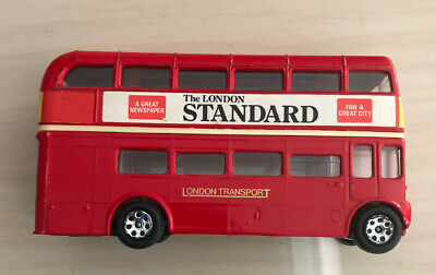 $ CDN25.09 • Buy CORGI LONDON TRANSPORT ROUTEMASTER DOUBLE DECKER BUS**1960s RELEASE East Ham
