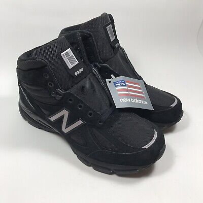 $109.99 • Buy NEW BALANCE 990V4 MEN'S MADE IN USA MID BOOTS M0990BK4 BLACK HIKING Size 9
