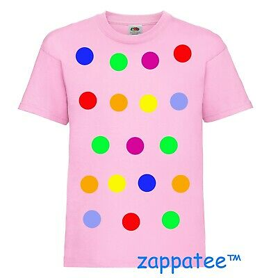 £6.90 • Buy Children 's Spotty Dotty T Shirt In Light Pink. Need A Tee With Coloured Spots?