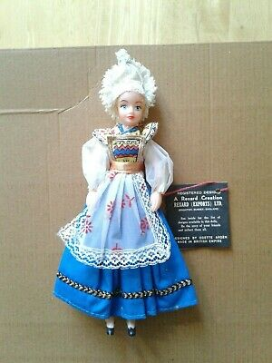 Vintage Rexard Miss Normandy Costume Doll  • 6£
