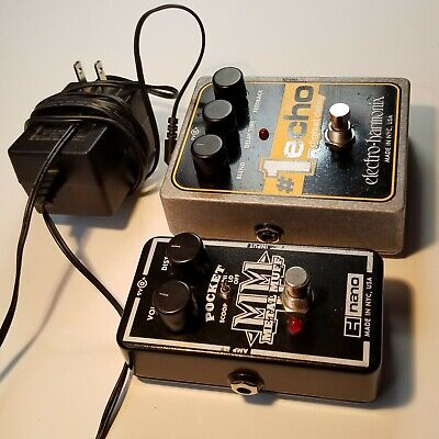 $ CDN179.95 • Buy Electro-Harmonix & Nano Electric Guitar Pedal Lot #1 Echo & Metal Distortion