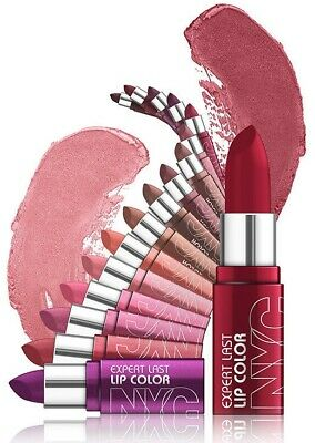 NYC Lipstick  New York Color Expert Last Showtime Lip Balm BUY 5 FOR 10-95  💄👄 • 10.95£