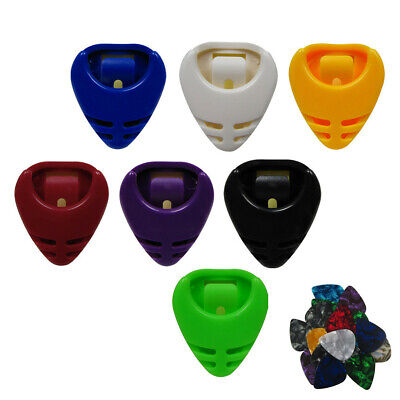 $ CDN8.77 • Buy 10PCS Plastic Portable Guitar Picks Holder Plectrum Holder Case With 10PCS Picks