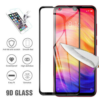 $6.10 • Buy 9D Strong Protection Tempered Glass Screen Protector For Xiaomi Max Redmi Note 7