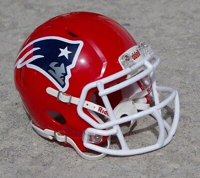 $37 • Buy New England Patriots Red Concept Mini Football Helmet