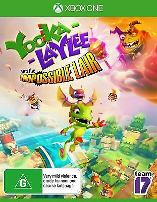 AU69 • Buy Yooka Laylee And The Impossible Lair XBOX One Family Kids Fun Solve Puzzles Game