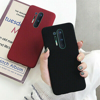 AU4.20 • Buy For OnePlus Nord 8 Pro 7T Pro 7 6 6T 5 5T Sandstone Soft Rubber Back Case Cover