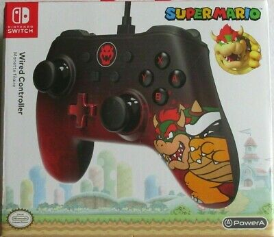 $20 • Buy Super Mario Nintendo Switch Wired  Bowser  Video Game Controller Lot#EB36