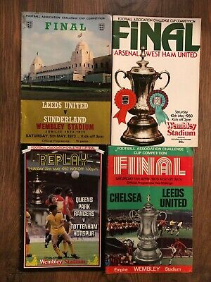 £3 • Buy FA Cup Final Programmes 1963-1984