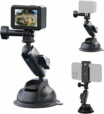 £7.99 • Buy TELESIN Car Suction Cup Bracket Tripod Mount For GoPro Hero 9 8 DJI Osmo Action