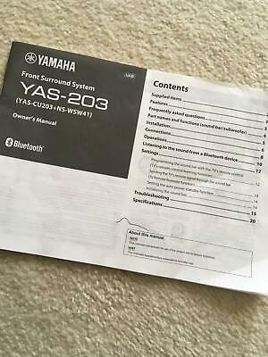 AU199 • Buy Sleek Soundbar With Wireless Sub-woofer - Yamaha YAS-203