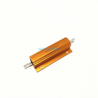 $18.99 • Buy 10pcs RX24 100W 0.01R To 100K Ohm Aluminum Housing Case Power Wirewound Resistor