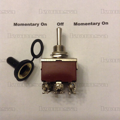 3 Position / Momentary On - Off - Momentary On Toggle  Switch #8025 • 8.98$