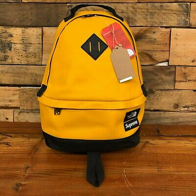 $ CDN546.08 • Buy SUPREME X TNF BACKPACK YELLOW FW17 - ITEM NUMBER 2-1604