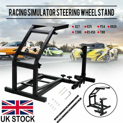 Racing Simulator Steering Wheel Stand Driving Gaming For G29 G920 T300RS T80 NEW • 45.98£