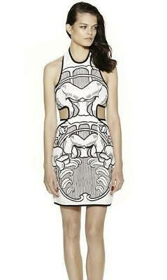AU149.95 • Buy ALICE MCCALL : Sevilla Back Strap Embroidered Halter Dress Size:10.12 -NEW- $369