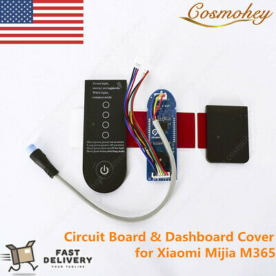 $19.45 • Buy Plug Bluetooth Circuit Board & Dashboard Cover For Xiaomi Mijia M365 Scooter US