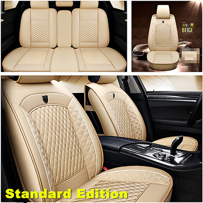 $ CDN147.56 • Buy  Standard Edition Full Set Car Seat Cover Seat Protector 5-Seats Car Accessories