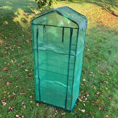 Selections 4 Tier Mini Greenhouse Grow House With Reinforced Cover • 32.99£