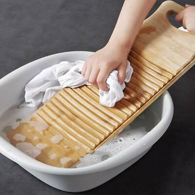 £10.81 • Buy Washboard Made Of Wooden Board Wash Clean Laundry Clothes Home With Gloves UK