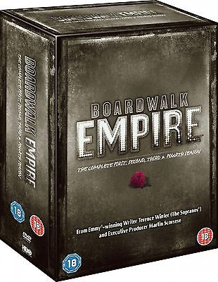 Boardwalk Empire - Complete HBO TV Series 19 Discs Collection Boxset New UK DVD • 34.99£