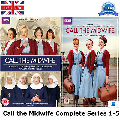 £45.35 • Buy Call The Midwife Series 1-5 Complete Season 1 2 3 4 5 New Sealed UK Region 2 DVD