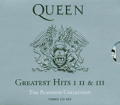 QUEEN The Platinum Collection: Greatest Hits I, II & III Box Set CD New Sealed • 19.99£