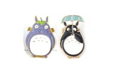 Studio Ghibli My Neighbour Totoro Style Pin Badge / Brooch Lapel, Anime • 2.95£