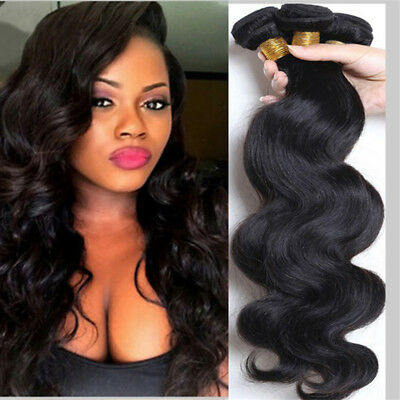 100% Real Remy Human Hair Extensions Full Head Pre-bonded Natural Best Weft UK • 12.98£