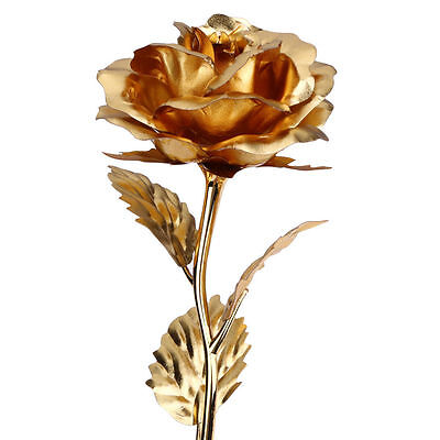 £8.99 • Buy 24K Gold Plated Rose Flower Romantic Anniversary Valentine's Day Gift Packing