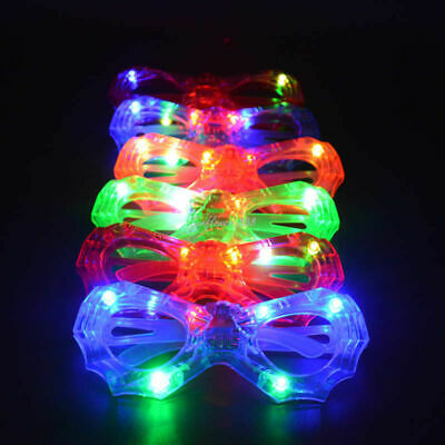 Led Glasses, Spider Shape Light Up, Glowing,party And Club Glasses For Childrens • 2.49£