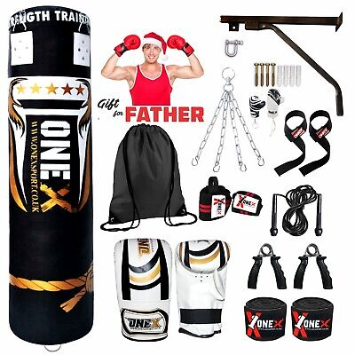 AU114.09 • Buy 5ft. Punch Bag Boxing Filled Heavy Duty Martial Arts Father Christmas Gift Set